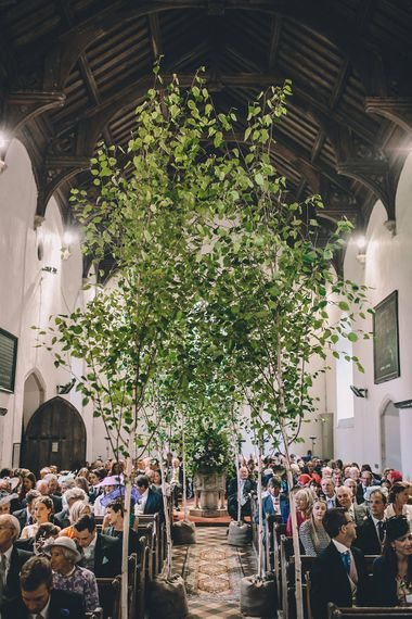 Tree Wedding Ceremony Decor