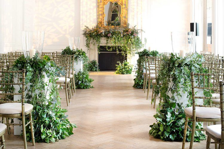 Philippa Craddock Floral Installation For Wedding