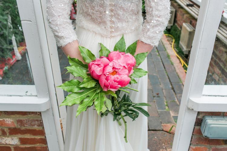 Botanical Wedding Inspiration Miami Tropical Vibes Styling The Vintage House That Could With Bridal Separates Catherine Deane & Images Life Through A Lens