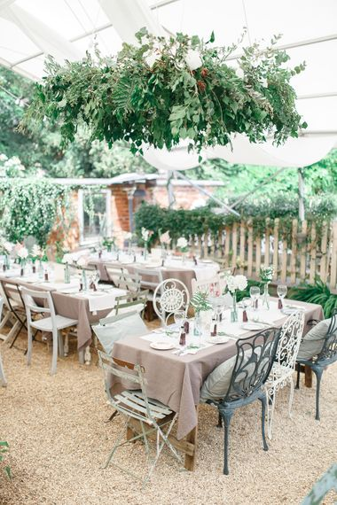 Secret Garden Reception at Castle Cottage Cafe, Oakham | White Stag Wedding Photography