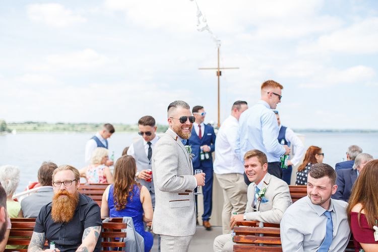 Rutland Water Cruises | Normanton Church on Rutland Water | White Stag Wedding Photography