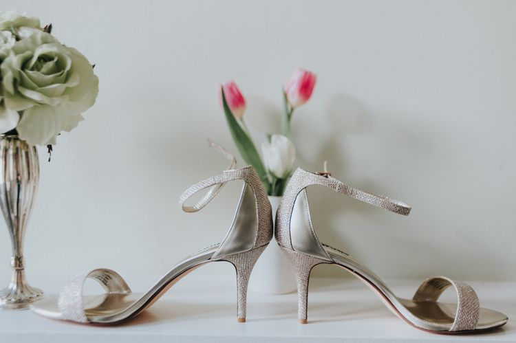 Dune Bridal Shoes | Classic Marquee Reception at Chippenham Park | Eliza Claire Photography