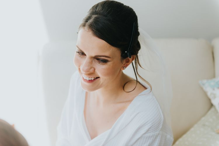 Bridal Beauty | Classic Marquee Reception at Chippenham Park | Eliza Claire Photography
