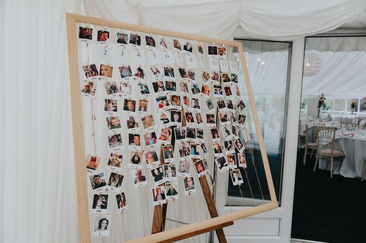 Polaroid Picture Table Plan