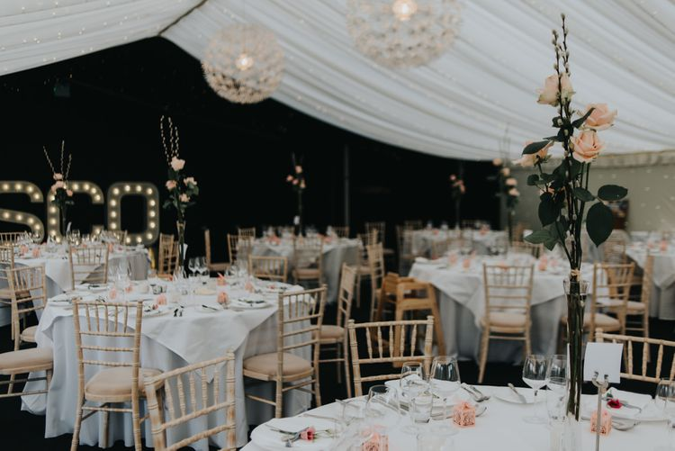Classic Marquee Reception at Chippenham Park | Eliza Claire Photography