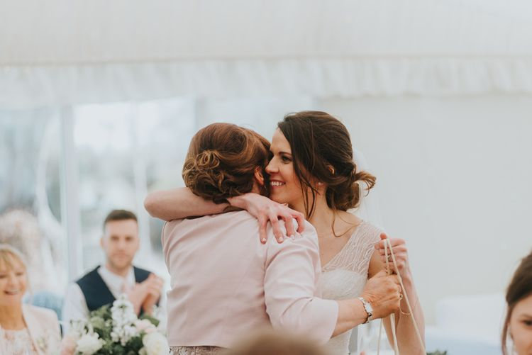 Hugs | Classic Marquee Reception at Chippenham Park | Eliza Claire Photography
