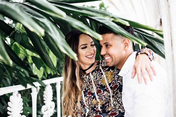 Botanical Engagement Shoot at Kew Gardens by Beatrici Photography