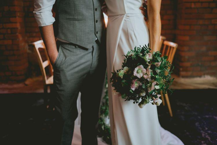 Modern Minimalism Wedding Shoot At Victoria Warehouse