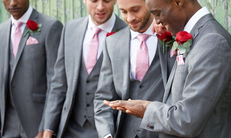 "Suit Hire For Grooms & Groomsmen From <a href=""https://tidd.ly/41db8232"" rel=""noopener"" target=""_blank"">Moss Bros.</a>"