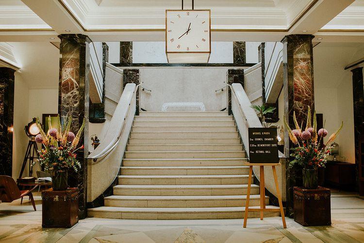 London Townhall Hotel Wedding | Irene Yap Photography