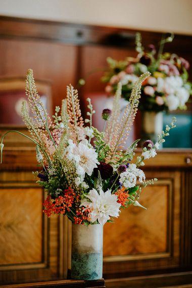 Flower Arrangment | London Townhall Hotel Wedding | Irene Yap Photography
