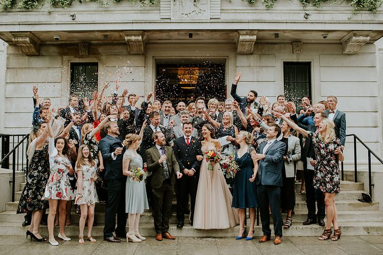 Wedding Ceremony | Wedding Guests | London Townhall Hotel Wedding | Irene Yap Photography