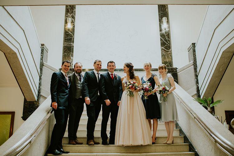 Wedding Party | London Townhall Hotel Wedding | Irene Yap Photography