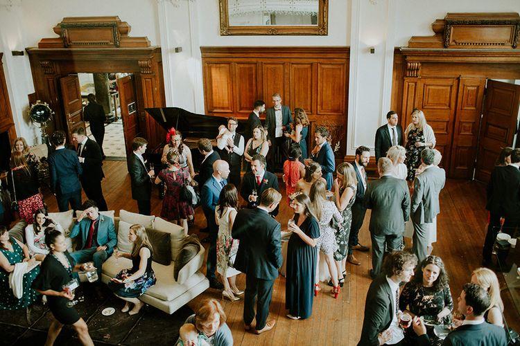 Wedding Guests | London Townhall Hotel Wedding | Irene Yap Photography