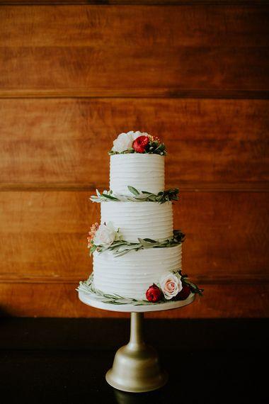 Wedding Cake | London Townhall Hotel Wedding | Irene Yap Photography