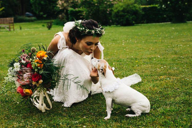 Bride & Pooch