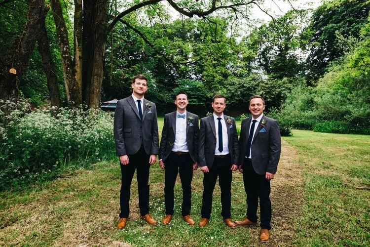 Groomsmen in Tweed