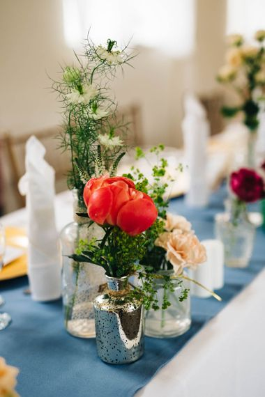 Flowers Stems in Vases