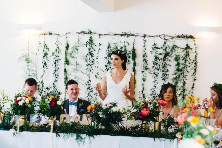 Top Table Floral Arrangements