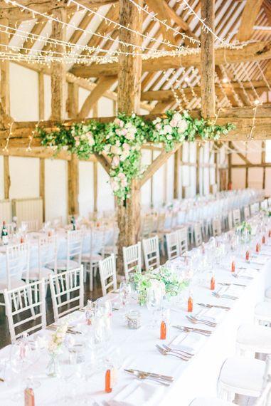 Pastel Spring Wedding at Loseley Park Barn   Sarah-Jane Ethan Photography   Captured Media Weddings Film