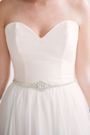 """Theia dress Marlene belt 