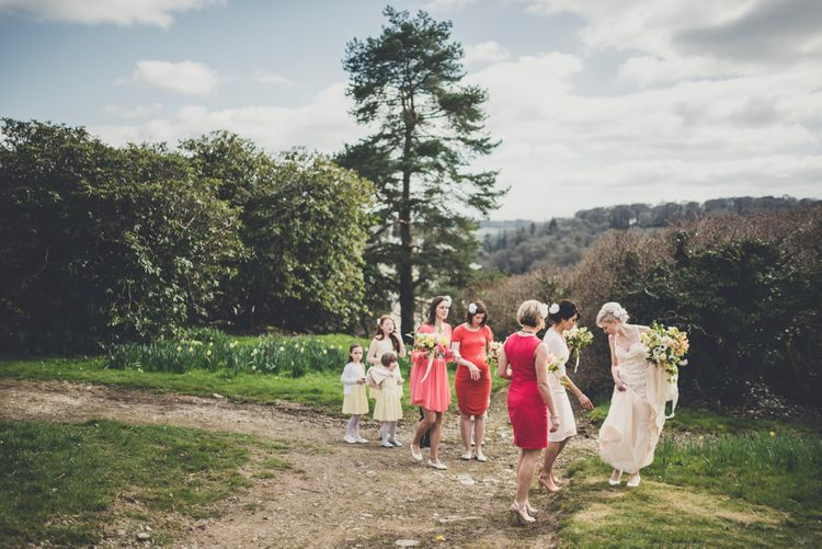 Wedding Party In High Street Dresses