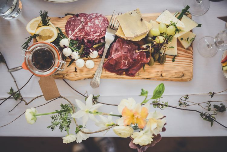 Cheese & Meat Platter For Wedding