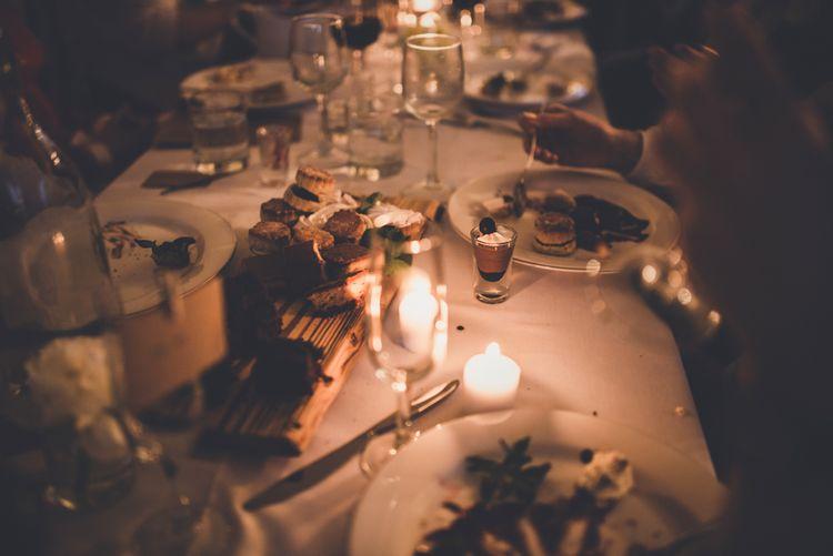 Wedding Reception Candlelight
