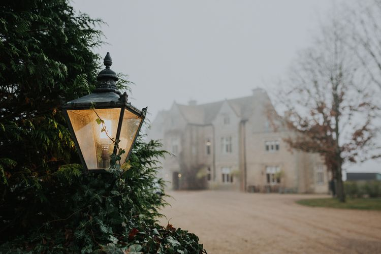 Christmas Wedding At Exclusive Hire Luxury Cotswold Venue Hyde House With Images From Kate Gray Photography
