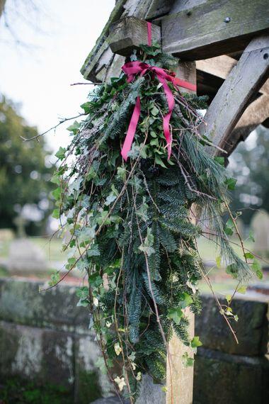 Christmas Wedding At Owen House Wedding Barn