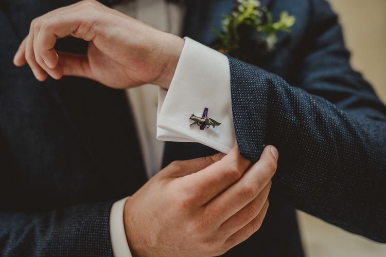 Paul Costello Fox Cufflinks | Antonija Nekic Photography