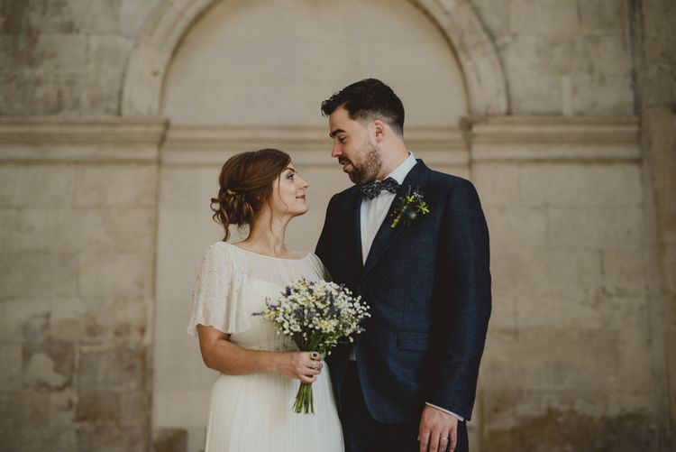 Bride in Saja Wedding Dress | Groom in Louis Copeland Suit | Antonija Nekic Photography
