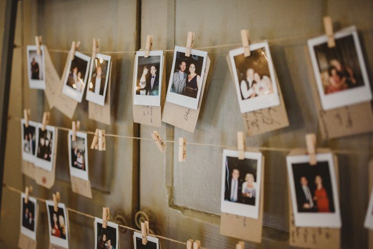 Polaroid Picture Guest Book Station | Intimate Anglers Rest Pub Wedding Reception | Antonija Nekic Photography