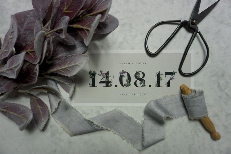 Elegant Floral Stationery For Wedding