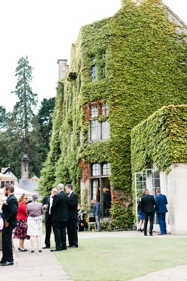 Blush Flower Filled Wedding at Pennyhill Park, Surrey Planned by Something Blue Weddings   Anushe Low Photography   Reel Weddings Film