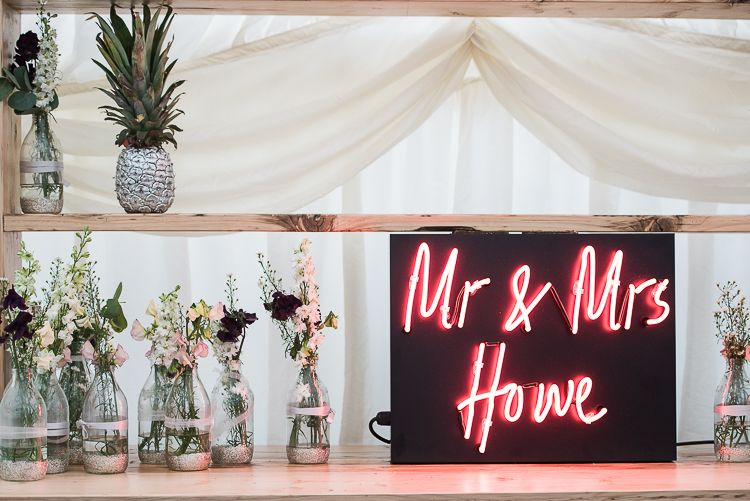 Personalised Neon Sign For Wedding