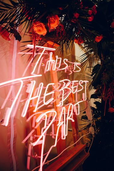 This Is The Best Part Neon Sign by Neon Creations | Amy B Photography