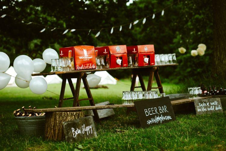 Drinks Station Festival Wedding