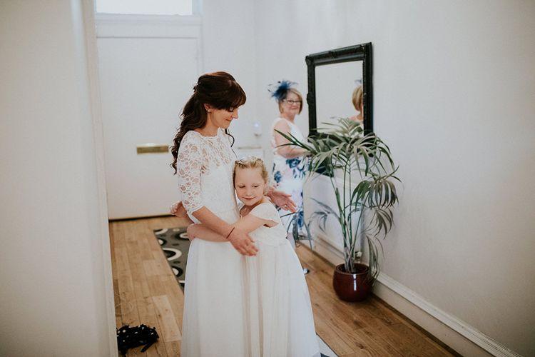 Flower Girl | Glasgow, West End Wedding | Cottiers Glasgow | Chris Barber Photography