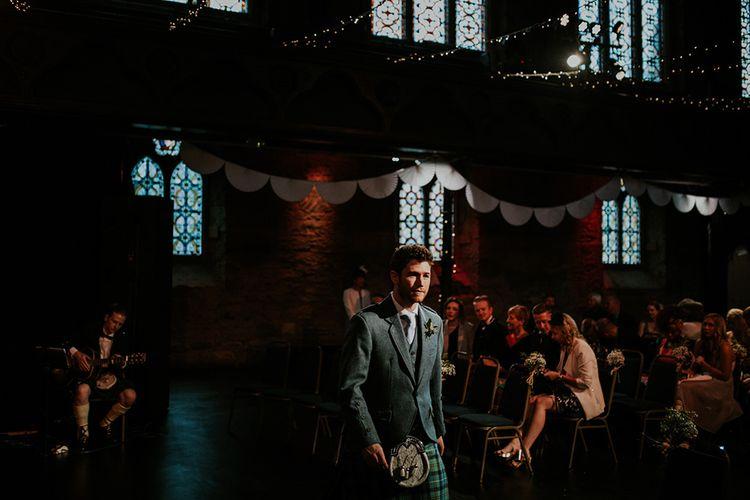 Ceremony | Glasgow, West End Wedding | Cottiers Glasgow | Chris Barber Photography