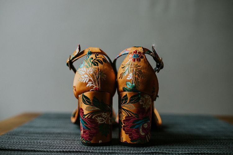 Shoes | Glasgow, West End Wedding | Cottiers Glasgow | Chris Barber Photography