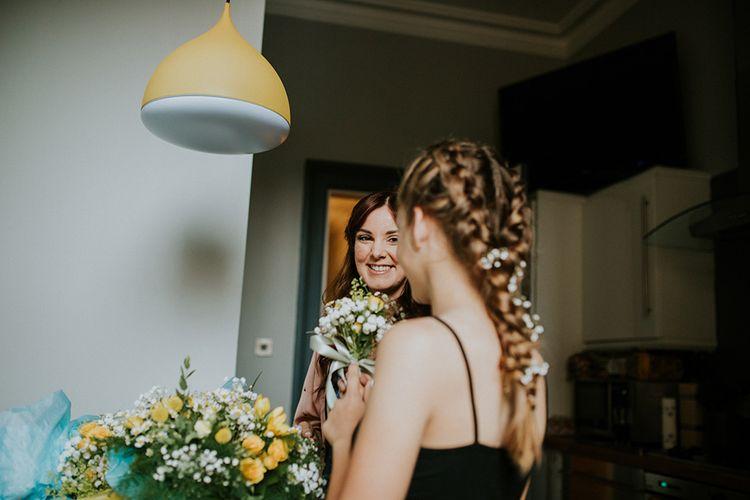 Getting ready | Glasgow, West End Wedding | Cottiers Glasgow | Chris Barber Photography
