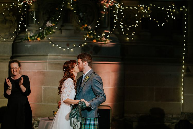 The Ceremony| Glasgow, West End Wedding | Cottiers Glasgow | Chris Barber Photography