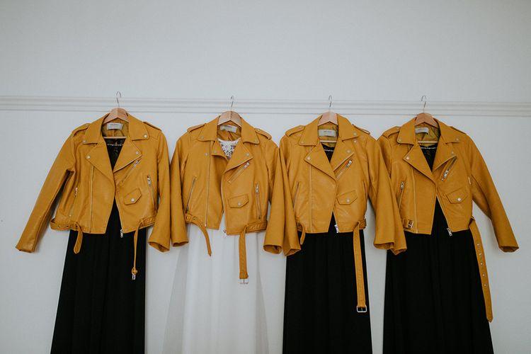 Zara Yellow Jackets | Glasgow, West End Wedding | Cottiers Glasgow | Chris Barber Photography