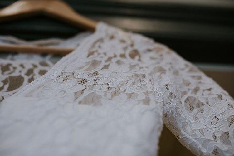 The Dress detail | Glasgow, West End Wedding | Cottiers Glasgow | Chris Barber Photography