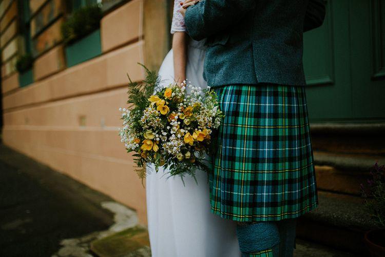 Kilted Groom | Glasgow, West End Wedding | Cottiers Glasgow | Chris Barber Photography