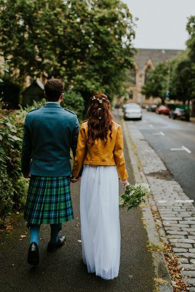 Yellow Jacket | Glasgow, West End Wedding | Cottiers Glasgow | Chris Barber Photography