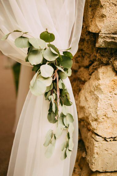 Eucalyptus Curtan Tie Back