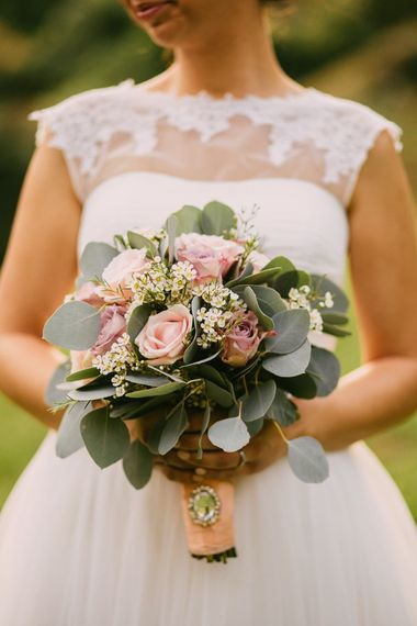 Blush Pink Rose Bridal ouquet