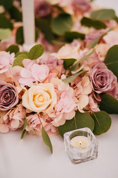 Pink Flower Wedding Flowers